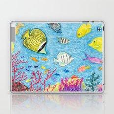 Crayon Fish #4 Laptop & iPad Skin