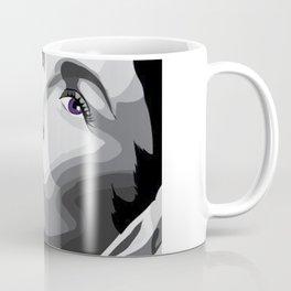 Elizabeth Taylor - Purple Eyes Coffee Mug