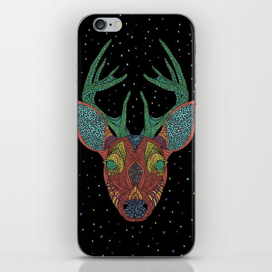 Intergalactic Deer iPhone & iPod Skin