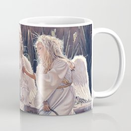 Reproduction Candle in the wind Steve Hanks Coffee Mug