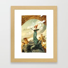 MGI  Framed Art Print