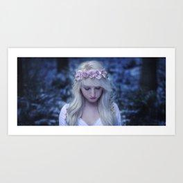 Elven girl Art Print