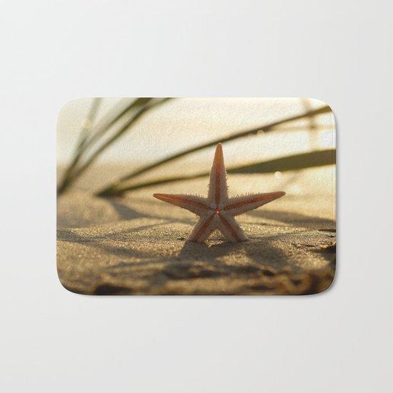 Starfish Still life on the beach Bath Mat