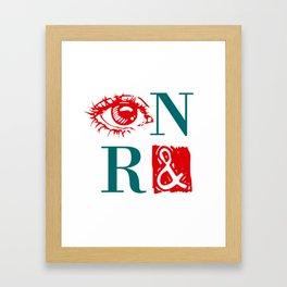 Randian Rebus Framed Art Print
