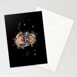 Skull Origins Stationery Cards