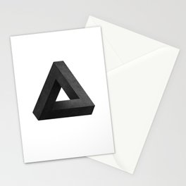 Penrose Triangle Stationery Cards