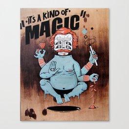 it´s a kind of magic! Canvas Print