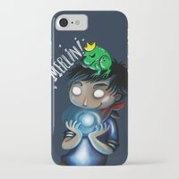 merlin iPhone & iPod Cases featuring Merlin!!! by Fla'Fla'