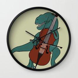 T-Rex Double Bass Wall Clock