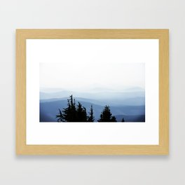 Mt. Hood's View Framed Art Print