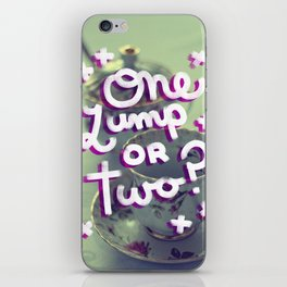 One Lump or Two? iPhone Skin