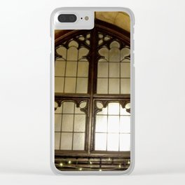 St. Mary Abbots Cloister Detail Clear iPhone Case