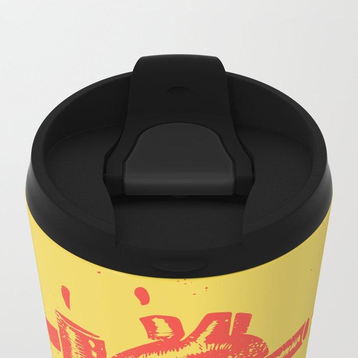 heart2 Metal Travel Mug