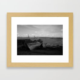 Boats on Mull Framed Art Print