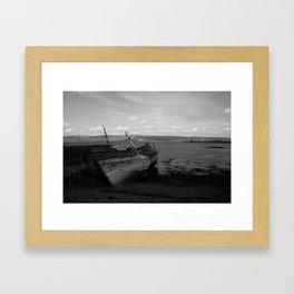 Boats on Mull Framed Art Print