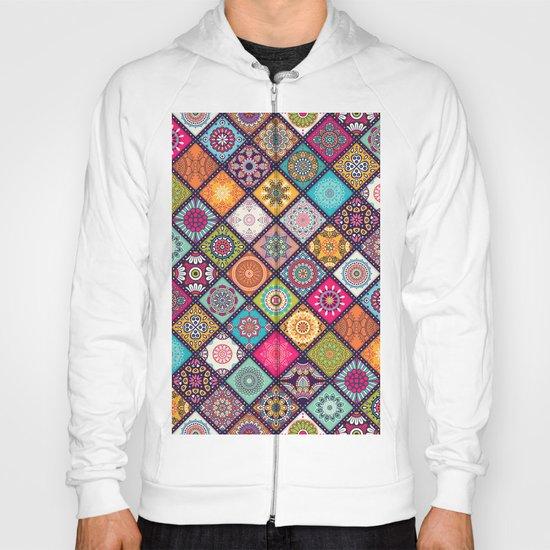 Pattern motif Hoody
