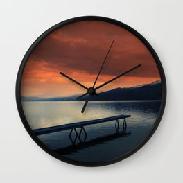 Ogopogo's Lair Wall Clock