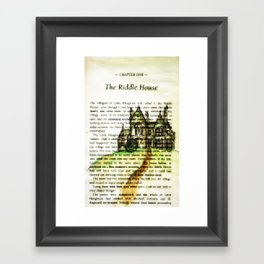 The Riddle House Framed Art Print