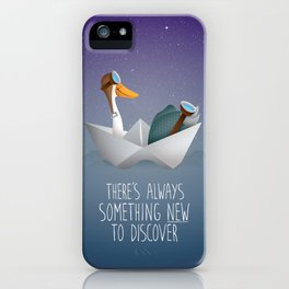 Discoverers iPhone Case