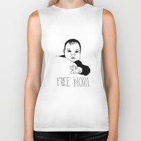 nori Biker Tanks featuring FREE NORI by mememolly
