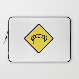 Caution: Vamps Laptop Sleeve