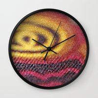 stained glass Wall Clocks featuring Stained Glass by Stephen Linhart