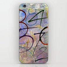 Days are numbers iPhone & iPod Skin