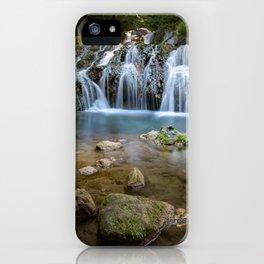 Landscape Falls Slow iPhone Case