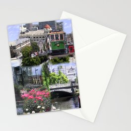Christchurch Collage No 2 Stationery Cards