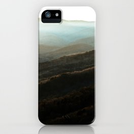 North Georgia Mountains 4 iPhone Case