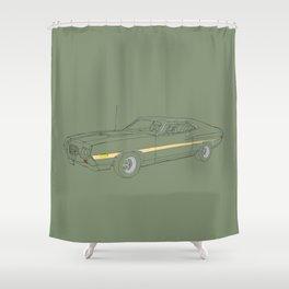 Gran Torino Shower Curtain