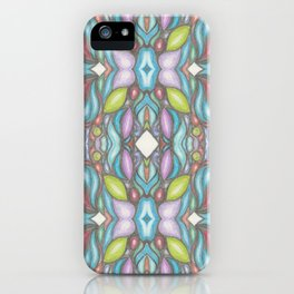 Pattern - Colors of your Heart iPhone Case