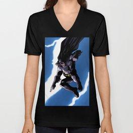 A Dark and Stormy Knight Unisex V-Neck