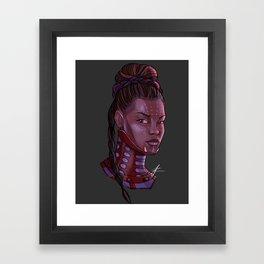 Shuri Framed Art Print