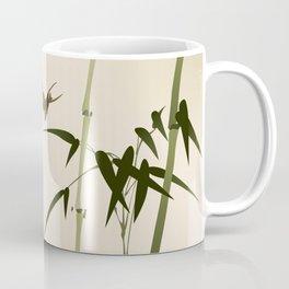 Oriental style bamboo branches 001 Coffee Mug
