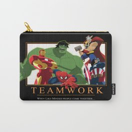 """INK-SPIRATION: """"Teamwork"""" 2 Carry-All Pouch"""