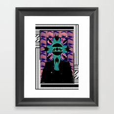 MIND OF A GENIUS.  Framed Art Print