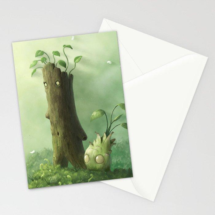 Plant Folk Stationery Cards