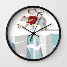 Private Penguin's Polar Percussion Wall Clock