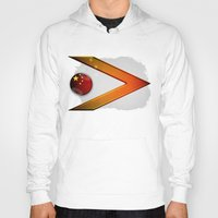 china Hoodies featuring China by ilustrarte