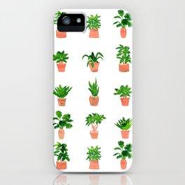 Plant Pots iPhone Case