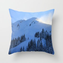 Ghosts In The Snow Throw Pillow