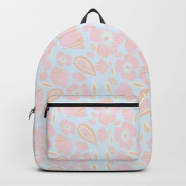 Pastel Dancing Floweres Backpack