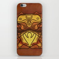 totem iPhone & iPod Skins featuring Totem by SensualPatterns
