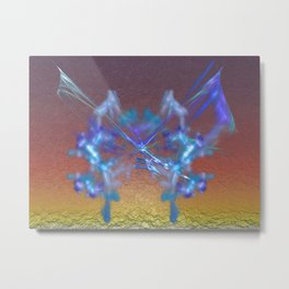 Easter Butterfly Metal Print