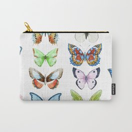 Butterfly Pattern 05 Carry-All Pouch