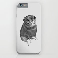 Sweet Black Pug Slim Case iPhone 6