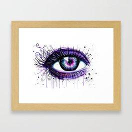 """""""Broken heart"""" Framed Art Print"""