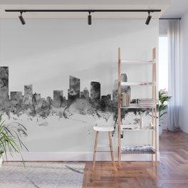 Grand Rapids Michigan Skyline Wall Mural
