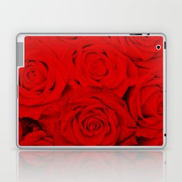 Some people grumble- Floral Red Rose Roses Flowers Garden Laptop & iPad Skin